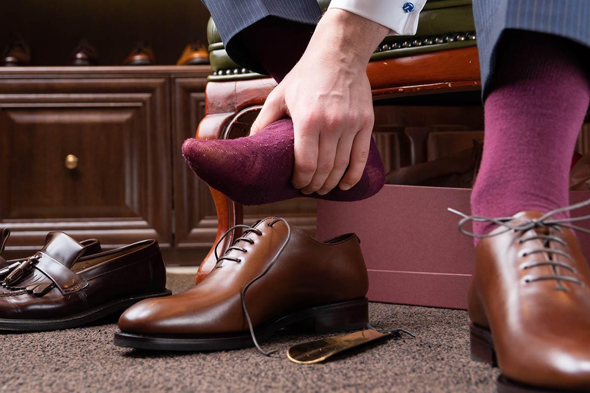 Byt skor ofta